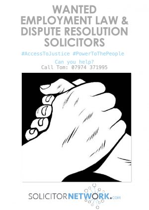 Solicitor Network poster